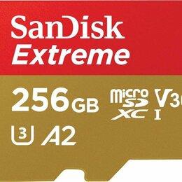 Карты памяти - Карта памяти microSDXC UHS-I U3 SANDISK Extreme 256 ГБ (160 МБ/с), 0