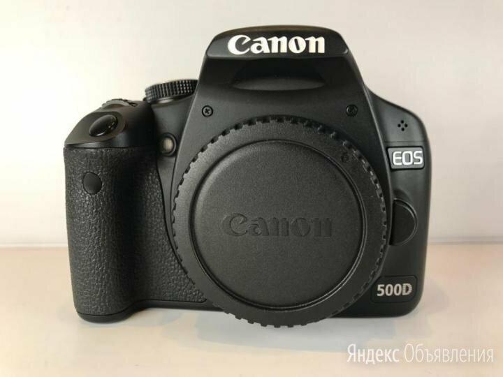 Canon EOS 500D (A380) по цене 5000₽ - Фотоаппараты, фото 0