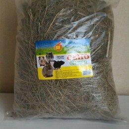 Сено и наполнители - сено с луговыми травами 55 500гр, 0