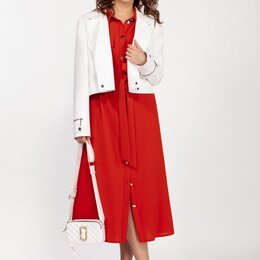 Одежда и обувь - Куртка 1678 DILANAVIP белая Модель: 1678, 0