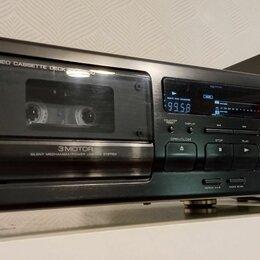 Музыкальные центры,  магнитофоны, магнитолы - Кассетная дека Kenwood KX-5050, 0