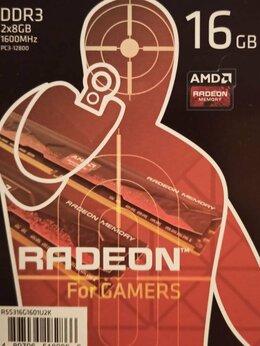 Модули памяти - DDR 3, 2x8GB, 1600MHz, AMD Radeon, 0