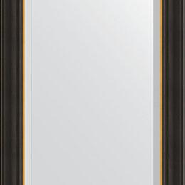 Зеркала - Зеркало Evoform Exclusive BY 3923 54x74 см черное дерево с золотом, 0
