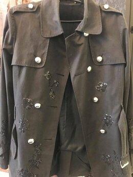 Куртки - Куртка roberta scarpa оригинал с поясом 44 р-р, 0