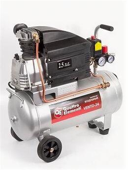 Воздушные компрессоры - Компрессор поршневой масляный QUATTRO ELEMENTI…, 0