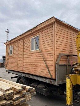 Готовые строения - Бытовка деревянная распашонка 6х2.30 А-506, 0