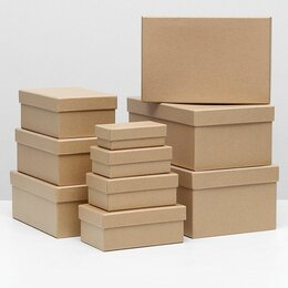 Корзины, коробки и контейнеры - Коробка крафт 6, 0