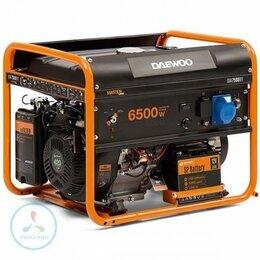 Электрогенераторы - Бензиновый + газовый генератор Daewoo GDA 7500 DFE, 0