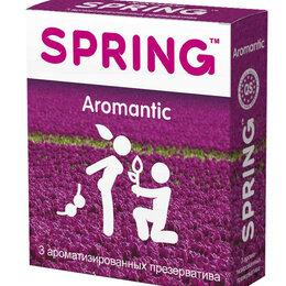 Презервативы - Ароматизированные презервативы SPRING AROMANTIC - 3 шт., 0