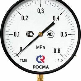 Измерительные инструменты и приборы - Манометр ТМ-810Р.00 (0-0,6МПа) М20х1,5.1,5, 0