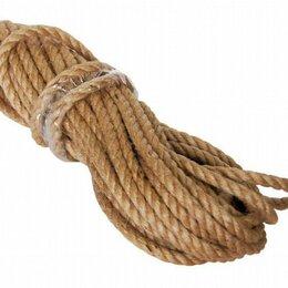 Веревки и шнуры - Канат джутовый 20м.(фасовка), 0