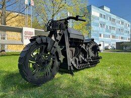 Грили, мангалы, коптильни - Мангал Мотоцикл 4 мм , 0