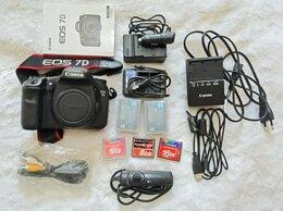 Фотоаппараты - Фотоаппарат canon 7D + флешки + аккумы + объективы, 0