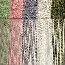Шторы - Нитяные шторы Portgallery радуга вертикальная 108 тяжелая , 0