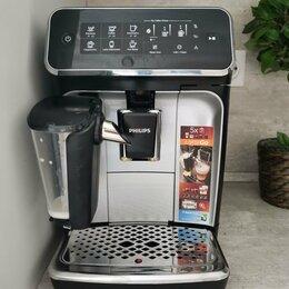 Кофеварки и кофемашины - Кофемашина Philips EP3246/70 BK, 0
