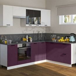 Мебель для кухни - Кухонный гарнитур ТЕХНО NEW-3, 0