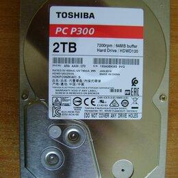 Жёсткие диски и SSD - Toshiba PC P300 2Tb на запчасти, под списание., 0