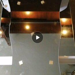 Зеркала - Шкаф зеркальный 55х73 с подсветкой и розеткой , 0