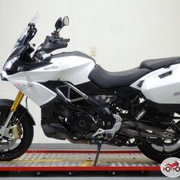 Мототехника и электровелосипеды - Мотоцикл APRILIA ETV 1200 Caponord 2015, БЕЛЫЙ пробег 1198, 0
