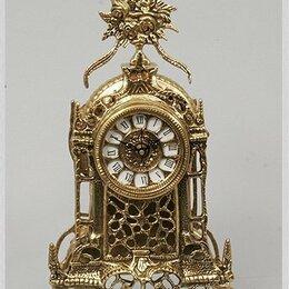 Часы настольные и каминные - Настольные часы. Бронза. Испания., 0