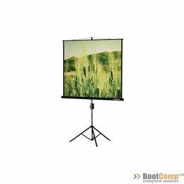 Экраны - Экран на штативе Classic Gemini 180x180 (T 172x172/1 MW-LU/B), 0