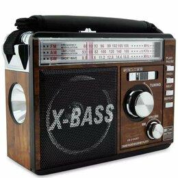 Радиоприемники - Радиоприемник с фонарем Waxiba XB-210URT, 0