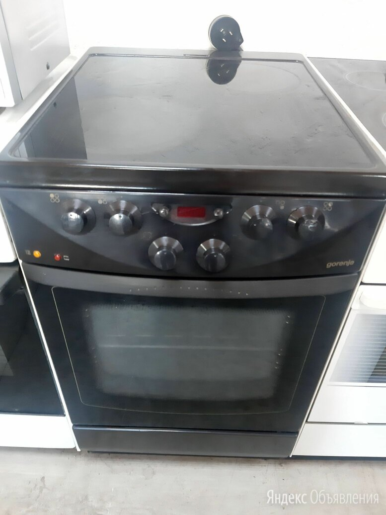 В черном цвете электрическая плита стеклокерамика по цене 10000₽ - Плиты и варочные панели, фото 0
