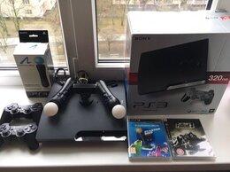 Игровые приставки - Sony Playstation 3 Slim на 320b,Прошита +30 игр!!!, 0