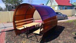 Комплекты садовой мебели - Беседки кованные с поликарбонатом, 0