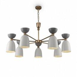 Люстры и потолочные светильники - Подвесная люстра Maytoni Cloches MOD113PL-07W, 0