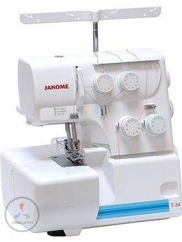 Оверлоки и распошивальные машины - Оверлок Janome T-34, 0