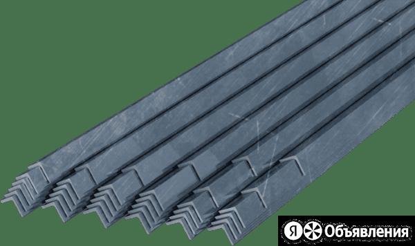 Уголок металлический 63 63 4 12м ст3пс5/сп5 по цене 3688₽ - Уголки, кронштейны, держатели, фото 0