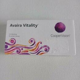 Приборы и аксессуары - Линзы контактные CooperVision Avaira Vitality -5.5, 0
