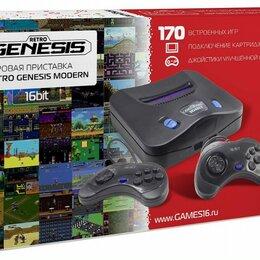 Ретро-консоли и электронные игры - Sega Retro Genesis Modern + 170 игр + 2 джойстика, 0
