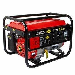 Электрогенераторы - Генератор бензиновый DDE G220, 0