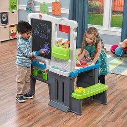 Развивающие игрушки - Центр для творчества Step2 Great Creations Art, 0