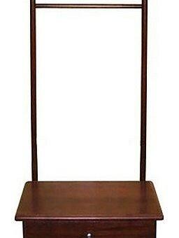 Вешалки напольные - Вешалка для костюма В 23Н средне-коричневая, 0