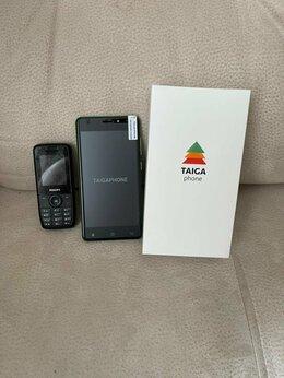Мобильные телефоны - Phillips Xenium x100 (3-x симочный ) + новый…, 0