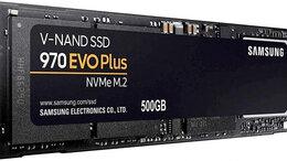 Внутренние жесткие диски - SSD Samsung 970 Evo Plus 500GB MZ-V7S500BW, 0