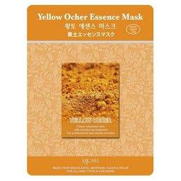 Маски - Маска тканевая охра Mijin Yellow Ocher Essence Mask, 0