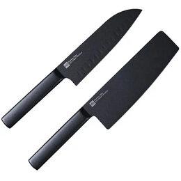 Ножи кухонные - Набор ножей Xiaomi Huo Hou Black Heat Knife Set…, 0