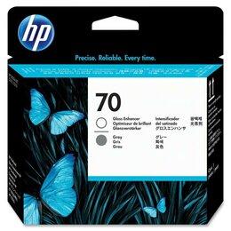 Аксессуары для принтеров и МФУ - C9410A (GE/G) Картридж-головка HP 70 оригинальный, 0