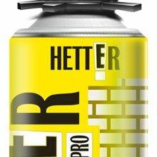 Строительные очистители - Очиститель монтажной пены «HETTER» (брутто 430г) 0,65л, 0