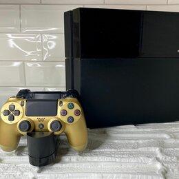 Игровые приставки - PlayStation 4 Slim 500GB + 2 геймпада + докстанция, 0