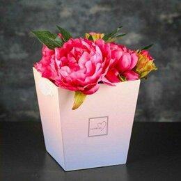 Горшки, подставки для цветов - Коробка трапеция для цветов, 0