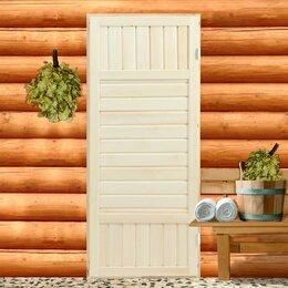 """Двери - Дверь для бани сорт """"ЭКСТРА"""" 160х70 см, 0"""