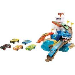 Игровые наборы и фигурки - Набор игровой Hot Wheels Сити Поединок с акулой…, 0