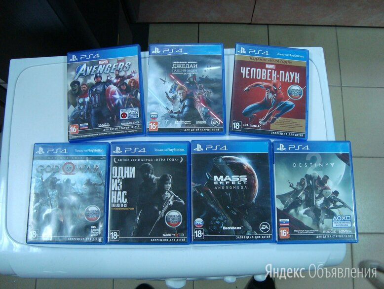 Игры на Sony PS4 по цене 500₽ - Игры для приставок и ПК, фото 0