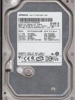 Внутренние жесткие диски - Жёсткий диск 320 ГБ Hitachi HDT721032SLA380 +…, 0