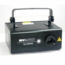Световое и сценическое оборудование -  INVOLIGHT SLL300RG Лазер, 0